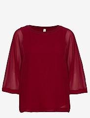 Soyaconcept - SC-ODINA - blouses à manches longues - cabernet - 0