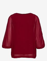 Soyaconcept - SC-ODINA - blouses à manches longues - cabernet - 1
