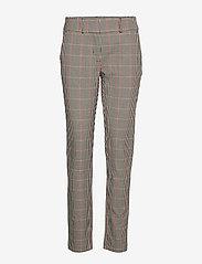 Soyaconcept - SC-BELLA - pantalons droits - cabernet combi - 0
