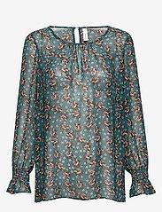 Soyaconcept - SC-BLONDIE - blouses à manches longues - deep green - 0