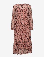 Soyaconcept - SC-BLONDIE - robes longeur du midi - rose smoke combi - 0