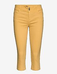 Soyaconcept - SC-ERNA - pantalons capri - yellow - 0