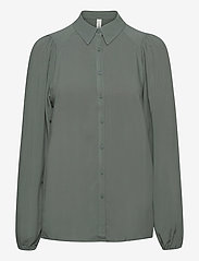 Soyaconcept - SC-RADIA - long sleeved blouses - shadow green - 0