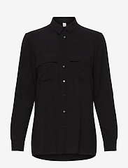 Soyaconcept - SC-RADIA - long sleeved blouses - black - 0