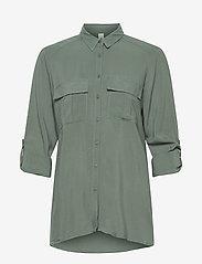 Soyaconcept - SC-RADIA - long sleeved blouses - shadow green - 2