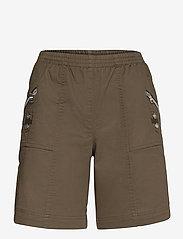 Soyaconcept - SC-AKILA - shorts casual - dark army - 0