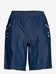 Soyaconcept - SC-AKILA CHAMBREY - shorts casual - medium blue denim - 0