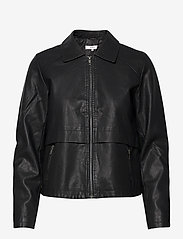 Soyaconcept - SC-GUNILLA - leather jackets - black - 0