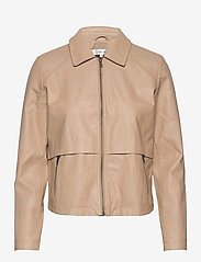 Soyaconcept - SC-GUNILLA - leather jackets - camel - 0
