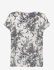 Soyaconcept - SC-SOLEA - short-sleeved blouses - powder blue combi - 1