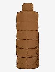 Soyaconcept - SC-NINA - puffer vests - dark caramel - 1