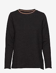 Soyaconcept - SC-MENJA - long-sleeved tops - black - 0