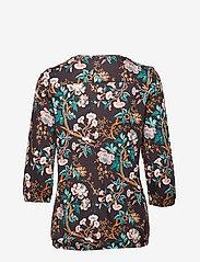 Soyaconcept - SC-FELICITY AOP - blouses à manches longues - dark earth combi - 1