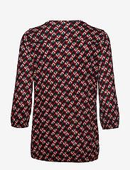 Soyaconcept - SC-FELICITY AOP - blouses à manches longues - cabernet combi - 1