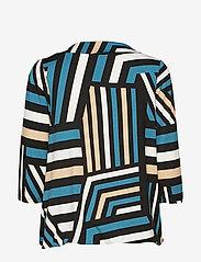 Soyaconcept - SC-MARICA AOP - blouses à manches longues - deep green - 1