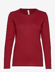 Soyaconcept - SC-BABETTE - t-shirts basiques - cabernet - 0