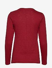 Soyaconcept - SC-BABETTE - t-shirts basiques - cabernet - 1