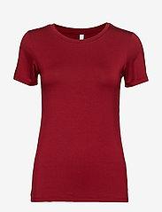Soyaconcept - SC-MARICA - t-shirts basiques - cabernet - 0