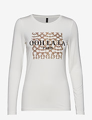 Soyaconcept - SC-NAIMA - t-shirts imprimés - offwhite - 0