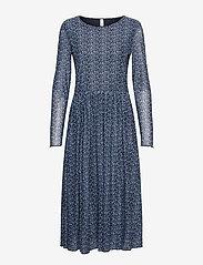 Soyaconcept - SC-ALDA - everyday dresses - bright blue combi - 0
