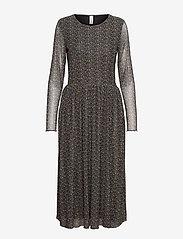 Soyaconcept - SC-ALDA - everyday dresses - shadow green combi - 0