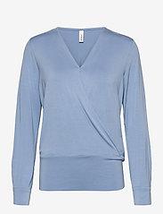 Soyaconcept - SC-MARICA - t-shirt & tops - bright blue - 0
