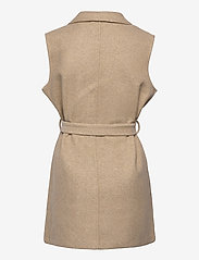 Soyaconcept - SC-NANO - puffer vests - dk sand melange - 1