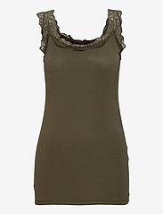 Soyaconcept - SC-MARICA - t-shirt & tops - dark army - 0
