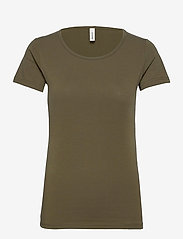 Soyaconcept - SC-PYLLE - t-shirt & tops - dark army - 0