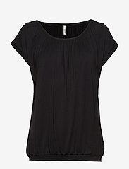 Soyaconcept - SC-MARICA - t-shirts - black - 0