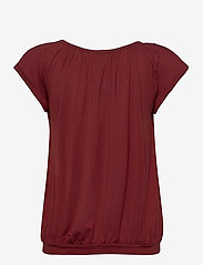 Soyaconcept - SC-MARICA - t-shirts - brick - 1
