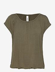 Soyaconcept - SC-MARICA - t-shirts - dark army - 0