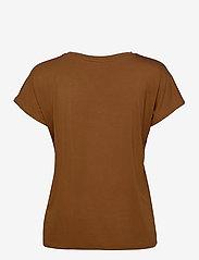 Soyaconcept - SC-MARICA - t-shirts - dark caramel - 1