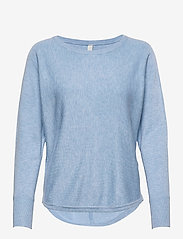 Soyaconcept - SC-DOLLIE - jumpers - powder blue melange - 0