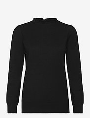 Soyaconcept - SC-DOLLIE - long sleeved blouses - black - 0