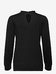 Soyaconcept - SC-DOLLIE - long sleeved blouses - black - 1
