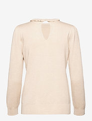 Soyaconcept - SC-DOLLIE - long sleeved blouses - cream melange - 1