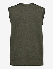 Soyaconcept - SC-DOLLIE - knitted vests - dark army melange - 1