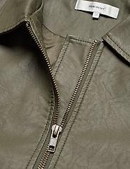 Soyaconcept - SC-GUNILLA - leather jackets - dark army - 2