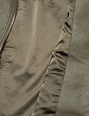 Soyaconcept - SC-GUNILLA - leather jackets - dark army - 3