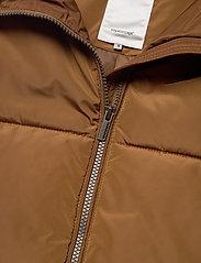 Soyaconcept - SC-NINA - puffer vests - dark caramel - 2