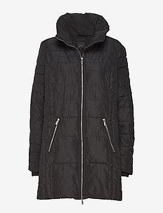 SC-NINA - wyściełane płaszcze - black