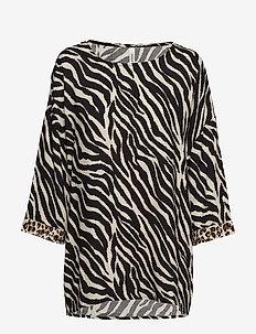 SC-ANABEL - blouses à manches longues - sand combi