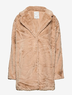 SC-AUGUSTA - faux fur - tan