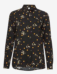 SC-EBONY - chemises à manches longues - black combi
