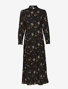 SC-EBONY - shirt dresses - black combi