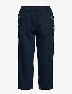 SC-AKILA - casual trousers - navy
