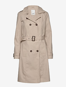 SC-LORA - trench coats - dk sand
