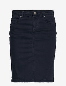 SC-ERNA - denim skirts - navy