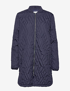 SC-FENYA - quilted jackets - navy
